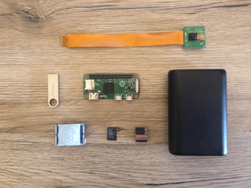 How to build a Raspberry Pi Zero trail camera - Part 1: What you need